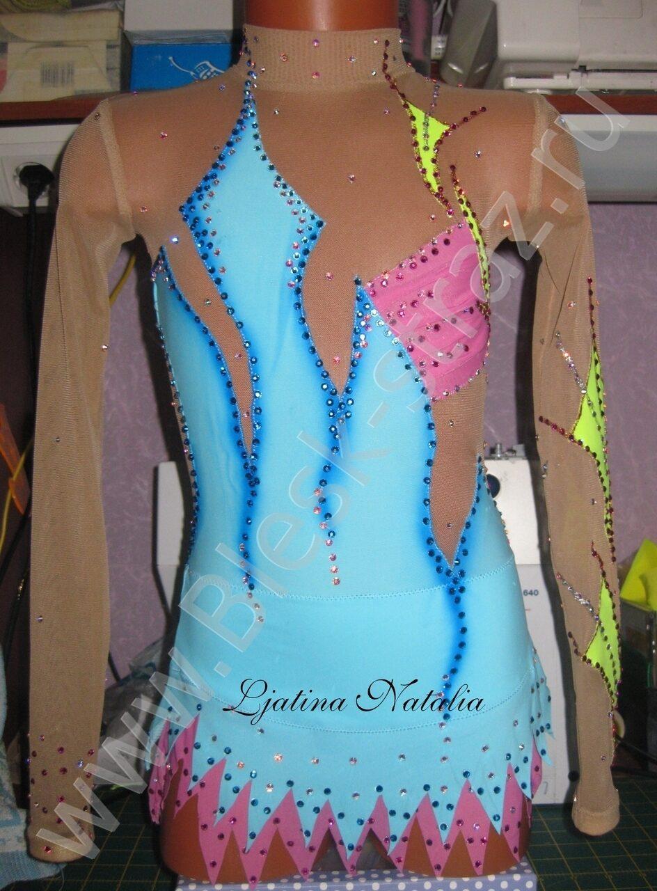 Как шить платье для фигурного катания